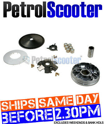 Chinese Scooter GY6 139QMB Front Pully 50cc 49cc Front Engine Pully Variator