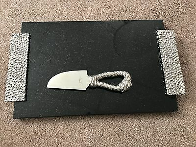 Michael Aram New Molten Cheese Board with Rope Knife $125