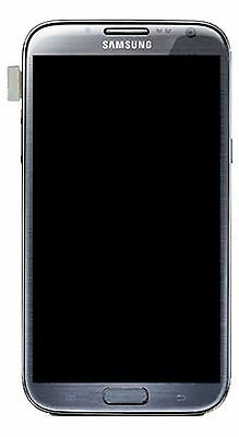 Samsung N7100 Galaxy Note2 LCD Screen and Touch, grey
