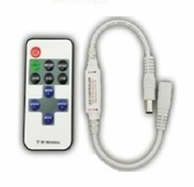 LED controller-dimmer mini with RF remote controler 6A
