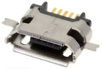 Socket, Micro USB B SMD middle board mount ATTEND RoHS