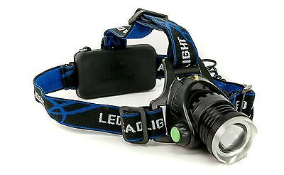 Headlight rechargeable with 10W CREE LED