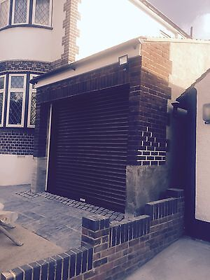 Electric garage door made to measure (price will vary)