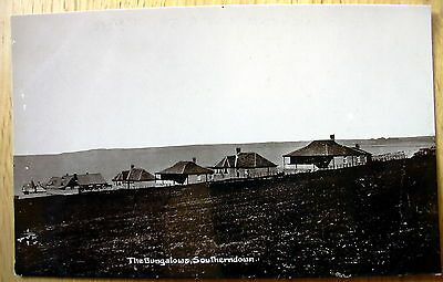 Real photo PC The Bungalows Southerndown Glamorgan D245