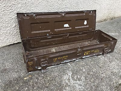 Ammo Box Military Vintage Chest Trunk