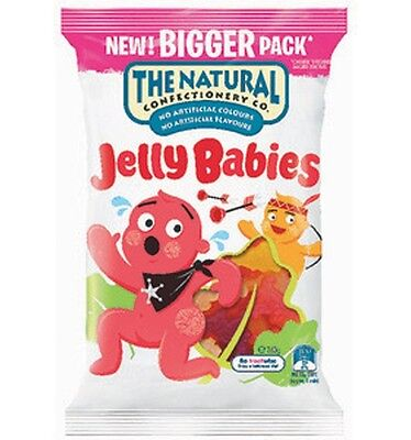 The Natural Confectionery Co. Jelly Babies 260g x 18