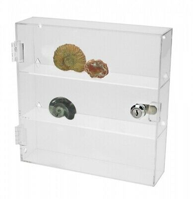 Figurine Lockable Acrylic Display Case-Small