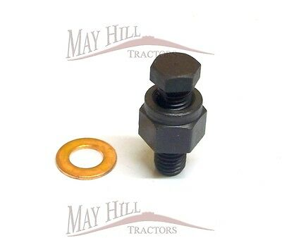 Massey Ferguson Tractor CAV Injector Pump Small Bleed Screw