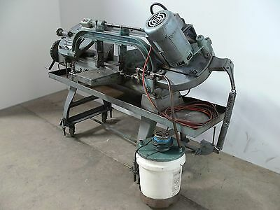 """Hotizontal Band Saw 67"""" long with Hydraulic & Coolant. Works perfect"""