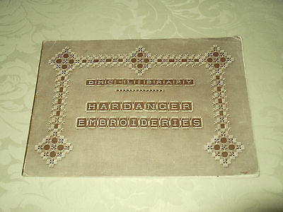 DMC Library - Hardanger Embroideries 1st edition - rare