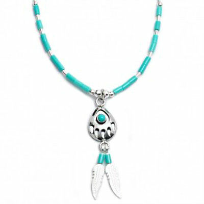 Native American Indian Jewelry Bear paw sterling silver necklace made by Navajo
