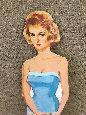 Vintage Donna Reed Paper Doll - By Dee-J - 1964 - Miss Merry Cut  Pieces missing