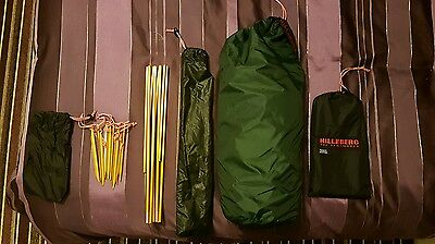 Hilleberg Akto Tent - Green - One Size AND Footprint