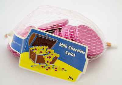 Pink Coins milk chocolate 5 bags