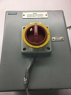 Seimens 7 Position Switch in Type 12 Enclosure  With Terminal Block