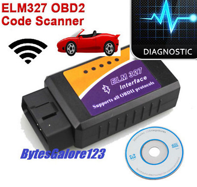 ELM327 WiFi OBD2 OBDII Car Diagnostic Scanner Auto Scan Tool For Android iPhone