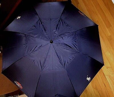 NEW Ralph Lauren Polo US Open Tennis 2016 Big Pony Umbrella Navy