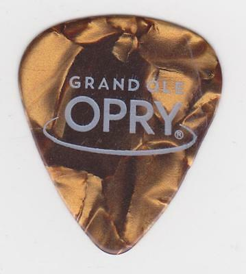 GRAND OLE OPRY GOLD BROWN GUITAR PICK COUNTRY MUSIC CITY Tennessee Hall Fame USA