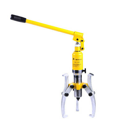 5 Ton Hydraulic Bearing Puller 3 Jaw 200mm Hub Separator Garage Removal Repair