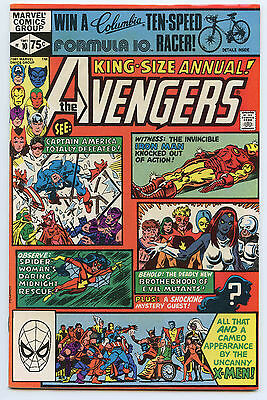 1981 Avenger King Size Annual #10 1st Appearance of Rogue & Madelyne Prior
