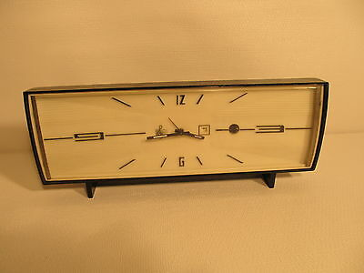 Vintage VICTORIA musical alarm clock-partly working AS IS  (ref 489)