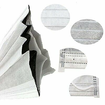 50pcs Disposable Face Mask with Carbon Filter Odor Control -Medical Dental Nails