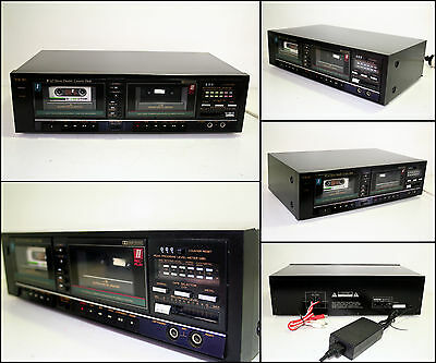 TEAC W-45 Stereo Double Cassette Deck