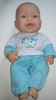 BERENGUER 35cm Beautiful Baby Doll Vinyl Body Drinks & Wets
