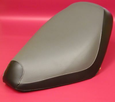 HONDA SA50P Elite 50 S Seat Cover in 2-tone GRAY & BLACK or 25 Color Options