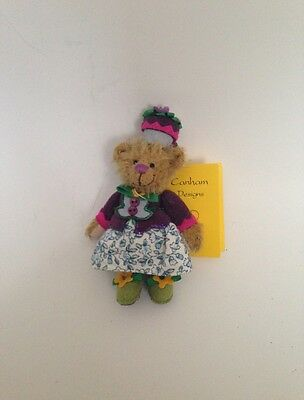 DEB CANHAM MINIATURE TEDDY Bear Munchkin Girl Oz Collection