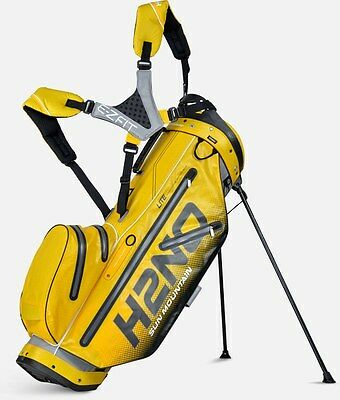 Sun Mountain Standbag H2NO-waterproof-Lite-Farbe:Grey Yellow Black-Neuheit!