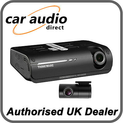 Thinkware F770 Front Rear Dash Cam Speed Accident Camera 32GB Full HD GPS WIFI