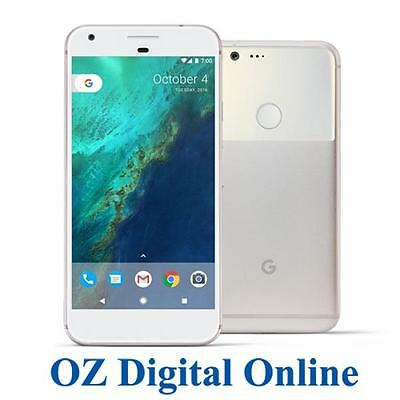"New Google Pixel 5"" Android 7.1 4G 12.3MP 32GB Silver Unlocked Phone 1 Yr Au Wty"