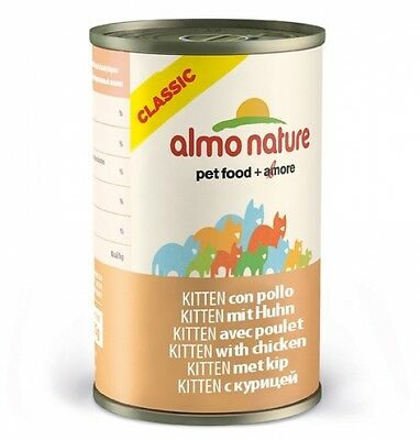 Almo Nature Cat Classic Kitten mit Huhn 140g