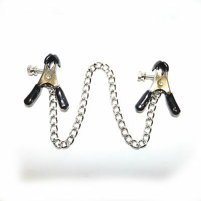NEW Spring Jaw Style Nipple Clamps   Nippelschmuck Intimschmuck  (718)