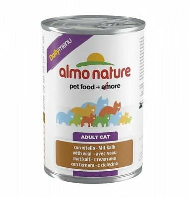 Almo Nature Cat Daily Menu Kalb 400g Dose • EUR 6,79
