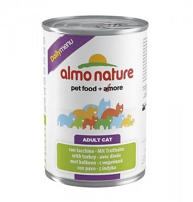 Almo Nature Cat Daily Menu Truthahn 400g Dose