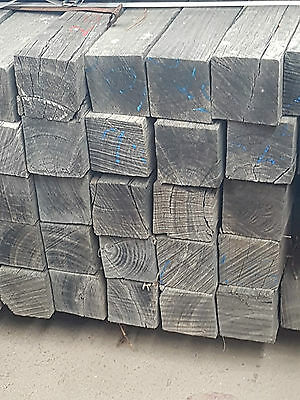 Reclaimed Silvertop Ash 125 x 125 mm Posts