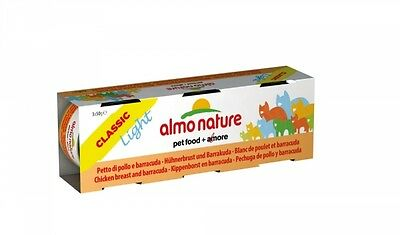 Almo Nature Light Hühnerbrust mit Barracuda 3x50g