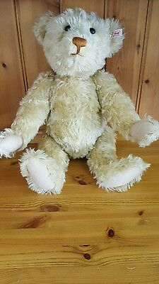 "Large Steiff Old Gold Teddybear "" Oliver""  Limited Edition 4000"