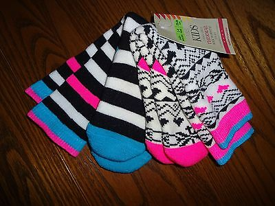 Marks And Spencer Pack Of 2 Pairs Of Girls Welly Socks  Size  6-81/2 2-3 Years