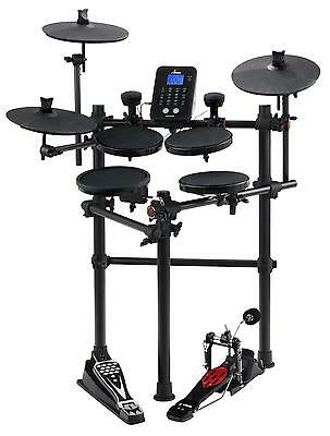 Set Batteria Elettronica E-Drum Digital 226 Voci Hihat Bassdrum Usb Midi Aux