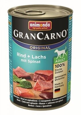 Animonda Dog Dose GranCarno Adult Seelachs & Spinat 400g