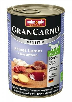 Animonda GranCarno Adult Sensitive Lamm + Kartoff
