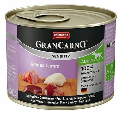 Animonda GranCarno Adult Sensitive Lamm pur 200g