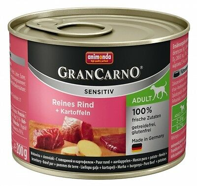 Animonda GranCarno Adult Sensitive Rind + Kartoff