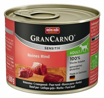 Animonda GranCarno Adult Sensitive Rind pur 200g