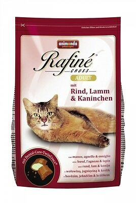 Animonda Rafine Cross Adult Rind, Lamm & Kaninchen 1,5kg • EUR 11,28