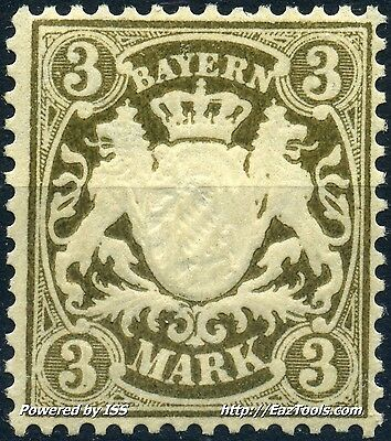 Allemagne Bayern N° 56 Neuf * Avec Charniere