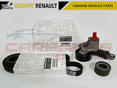 Genuine Renault 2.0 Sport Clio 172 182 Auxiliary Drive Fan Belt Tensioner Kit F4
